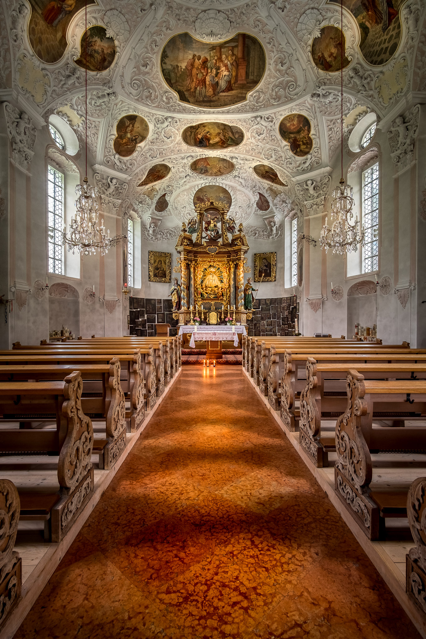 Pilgrimage Church of Maria Gern