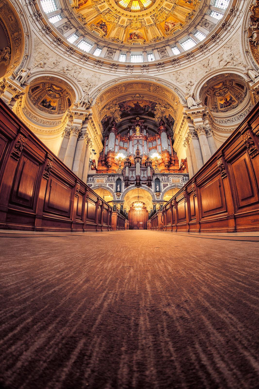 Berliner Dom Innenansicht Andreas Brett Fotograf Aus Frankfurt